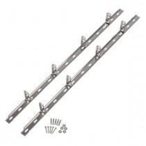 Professional Steel Wall Plate set (2x1190mm, 8 wall ties, fixing inc.)