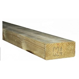 C24 Treated timber 2x4''  (47x95mm) 3.6m