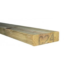 C24 Treated timber 2x6'' (47x145mm) 3.6m