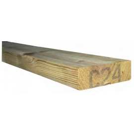 C24 Treated timber 2x7'' (47x170mm) 3.0m
