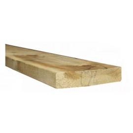 C24 Treated timber 2x9'' (47x220mm) 4.8m