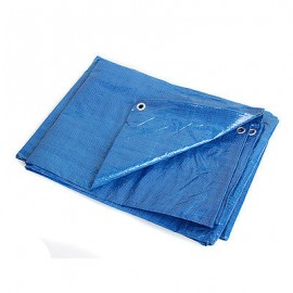 "Blue Tarpaulin Sheet 12""x18"""