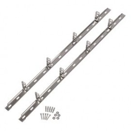 Professional Steel Wall Plate set (2x1190mm, 8 wall ties, fixing inc.)