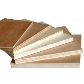 WBP Hardwood Plywood CE2+E1 EN636-2 1220x2440x5.5mm (8'x4')