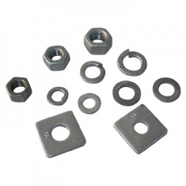 Nuts & Square Washers   M12   20 Pack