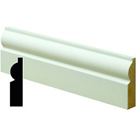 Primed MDF Torus Architraves 18x69 4.2m