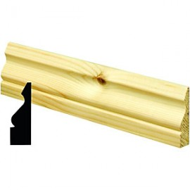 Architraves Ogee 25x75
