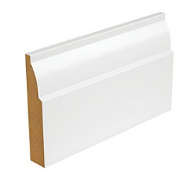 Primed MDF Ovolo Skirting 18x144 4.2m
